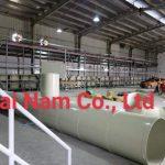 Hoàn thiện dây chuyển bể Anod Nhôm bằng vật liệu PP và hệ thống khí cho nhà máy của Nhật
