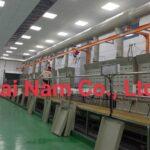 Hải Nam cung cấp tấm nhựa PP cho nhà máy Hàn Quốc ở Quế Võ làm dây truyền bể mạ.